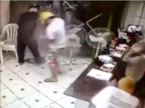 Policia mata assaltante em pizzaria em botucatu