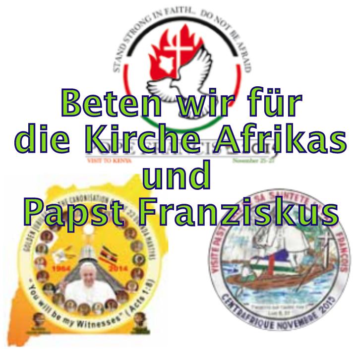 Papst Franziskus in Afrika