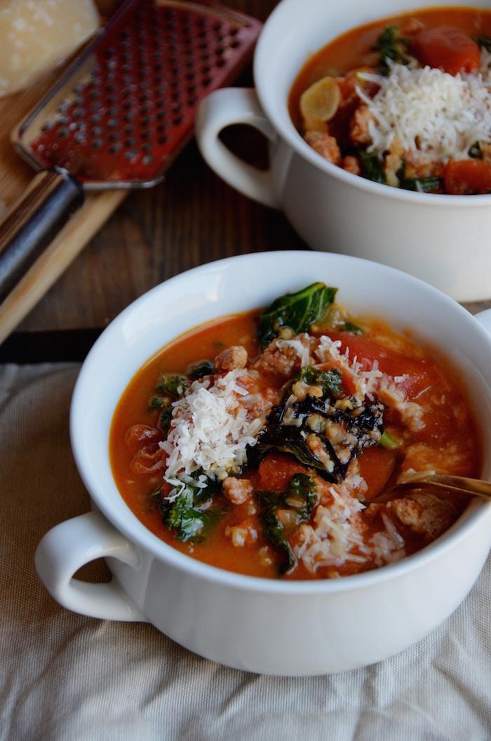 Bertucci S Italian Sausage Soup