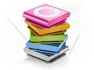 Concorra a iPods Shuffle de 2GB todos os dias.