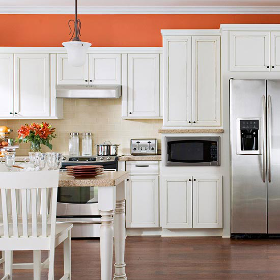 Find the perfect kitchen color scheme home interior design for Perfect tiles for kitchen