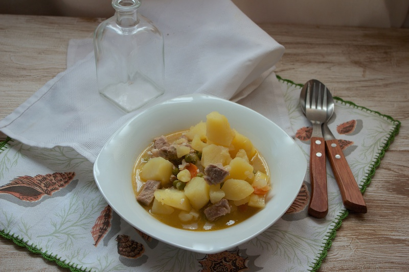 Cookeo de Moulinex , Patatas con carne