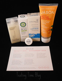 Love Lula Beauty Box Barefoot SOS, Jason, Living Nature, Giovanni, Suti