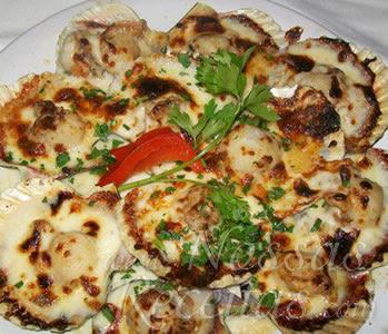 receita de ostras gratinadas no forno