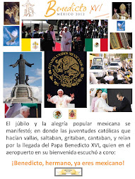 BENEDICTO HERMANO YA ERES MEXICANO