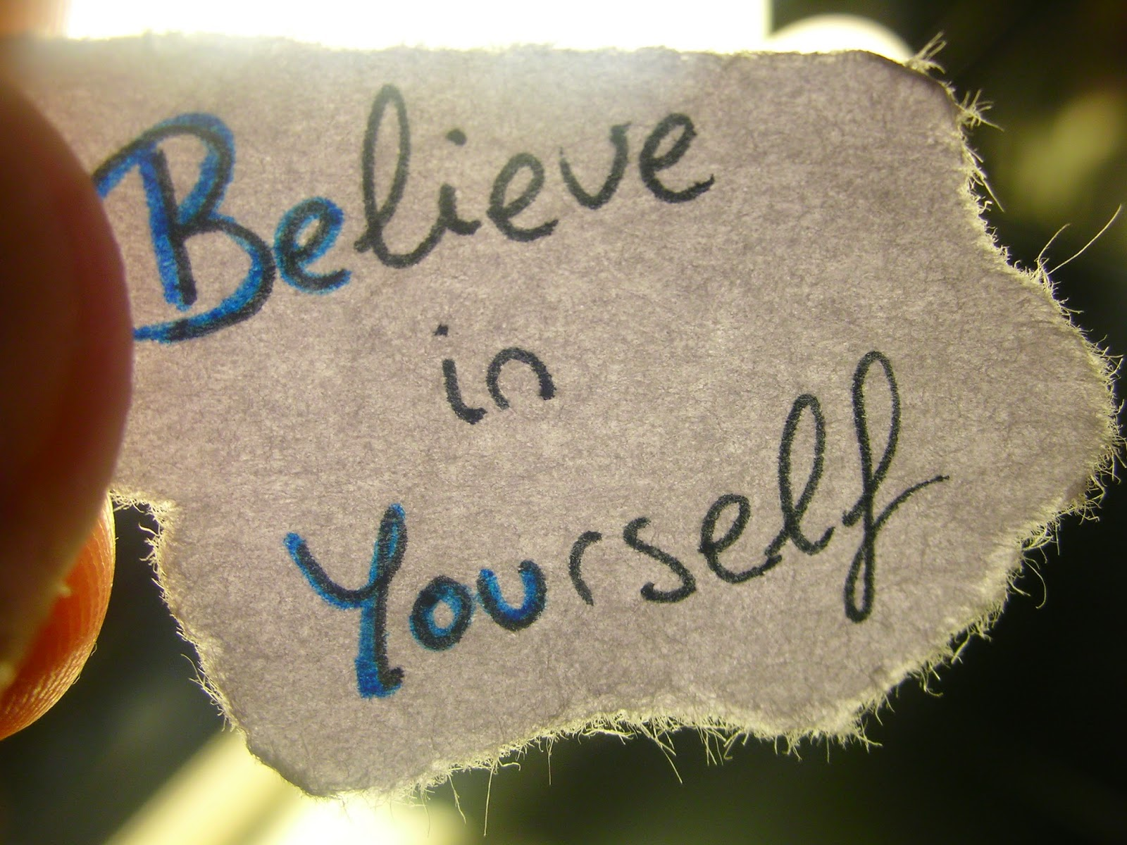 believe in yourself, motivation