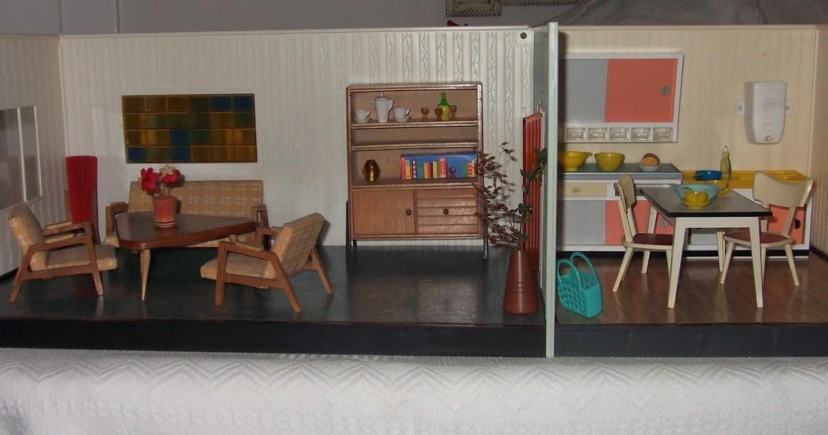 lillis puppenstube zwei zimmer stube von h fner und krullmann two room box by h fner und. Black Bedroom Furniture Sets. Home Design Ideas