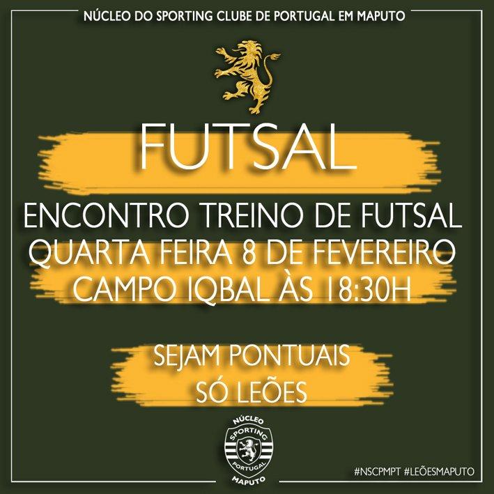 Futsal no Núcleo Sportinguista de Maputo