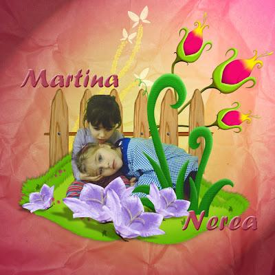 Martina y Nerea, dos niñas con Síndrome de Rett
