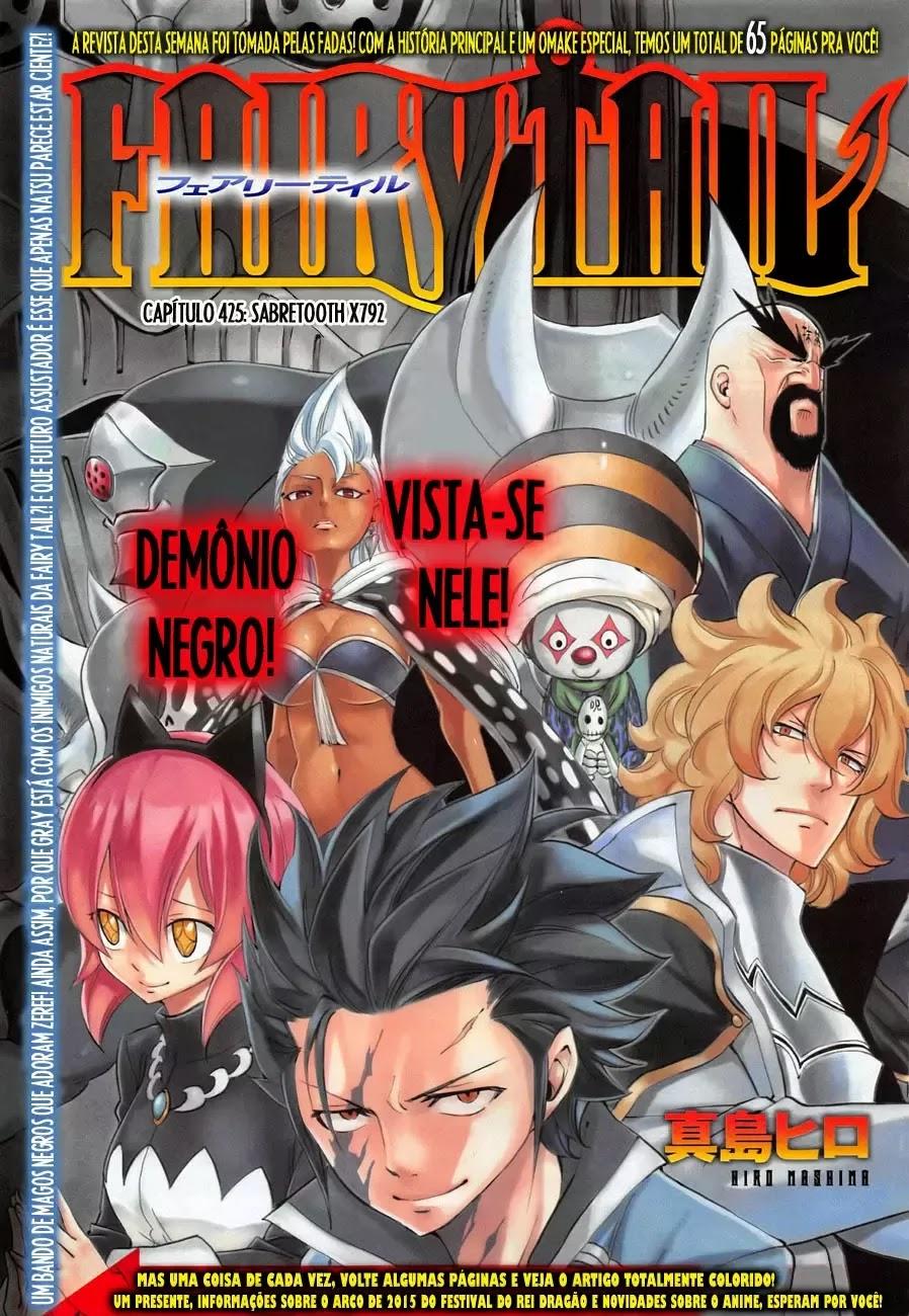Fairy Tail 425 Mangá Português leitura online