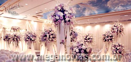 Almas de garotas Festa lilás e branca 15 anos