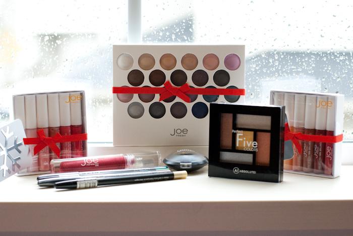 Makeup Purchases in November / Joe Fresh / GOSH / Forever 21