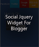Superb Jquery Social widget v5 Multi tab style for Blogger