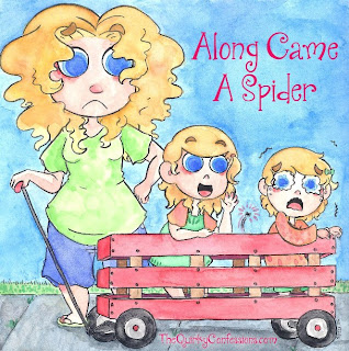 Along Came A Spider & traumatized my kids! ~ TheQuirkyConfessions.com