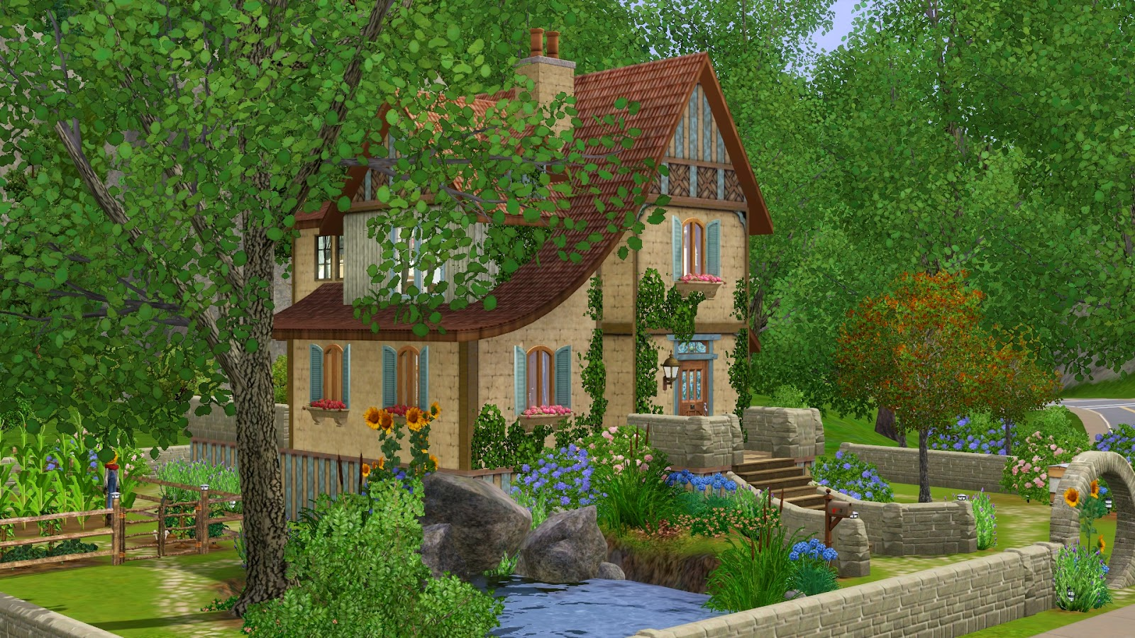 simply ruthless  downloads  sims 3 lots