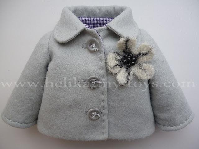 Пошив детского пальто -