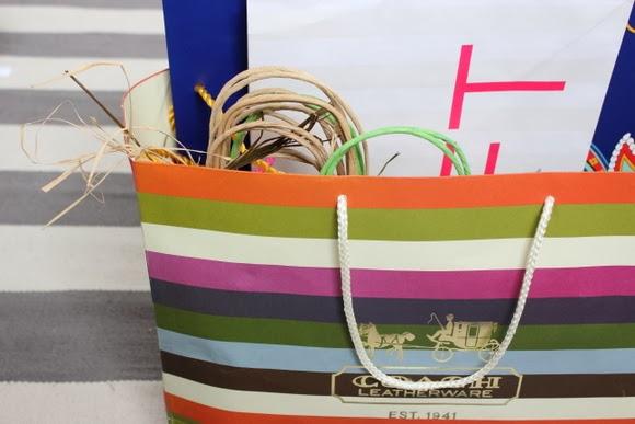 giftbags organized
