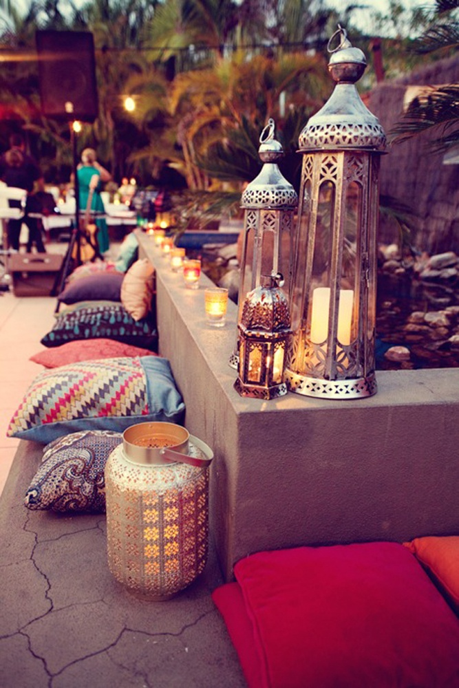 Bohemian Backyard Decor : mojomade Bohemian Gypsy Home Inspiration
