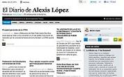 EL DIARIO DE ALEXIS LÓPEZ