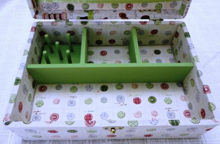 Oficina de caixas caixa de costura for Oficina de caixa