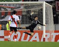 Barovero, figura, River Plate, San Lorenzo, Copa Sudamericana, Copa Total Sudamericana,