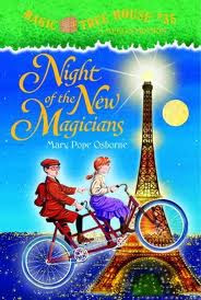 image: NIGHT OF THE NEW MAGICIANS - Mystery book review