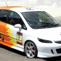Honda Jazz '08 : Woman Street Performance