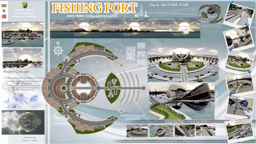 Graduation Projects Fishing Port Project - Port design