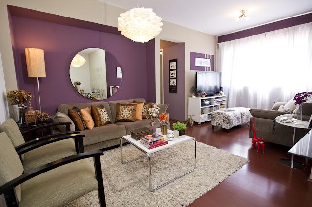 decoracao de sala lilas : decoracao de sala lilas:Minha Casa Que Cor Pinto