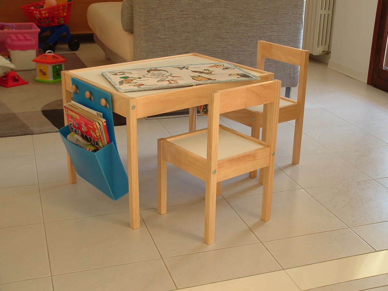 Ricicla e crea tavolino ikea per flavia - Tavolino e sedie bimbi ikea ...