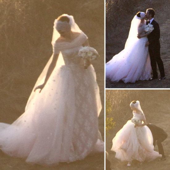 {style} Anne Hathaway�... Anne Hathaway Wedding Dress
