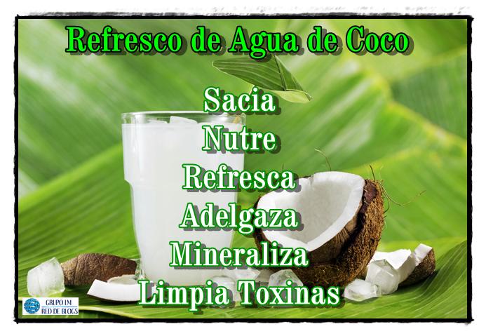 Refresco de Agua de Coco