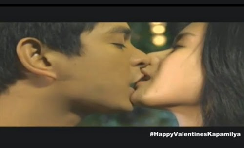 Coco Martin - Erich Gonzales kissed