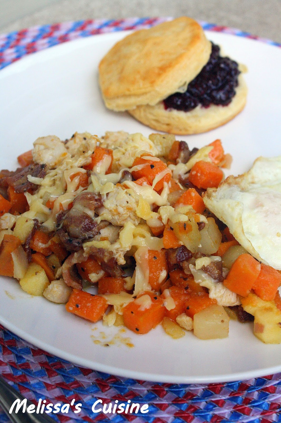 Melissa's Cuisine: Apple Chicken Potato Hash