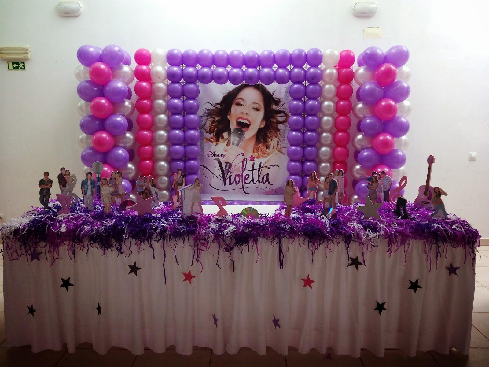 decoracao festa violeta:de Festas e Organização de Eventos: Decoração Violetta