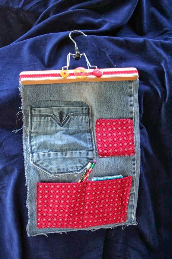 карманы от джинсовых брюк