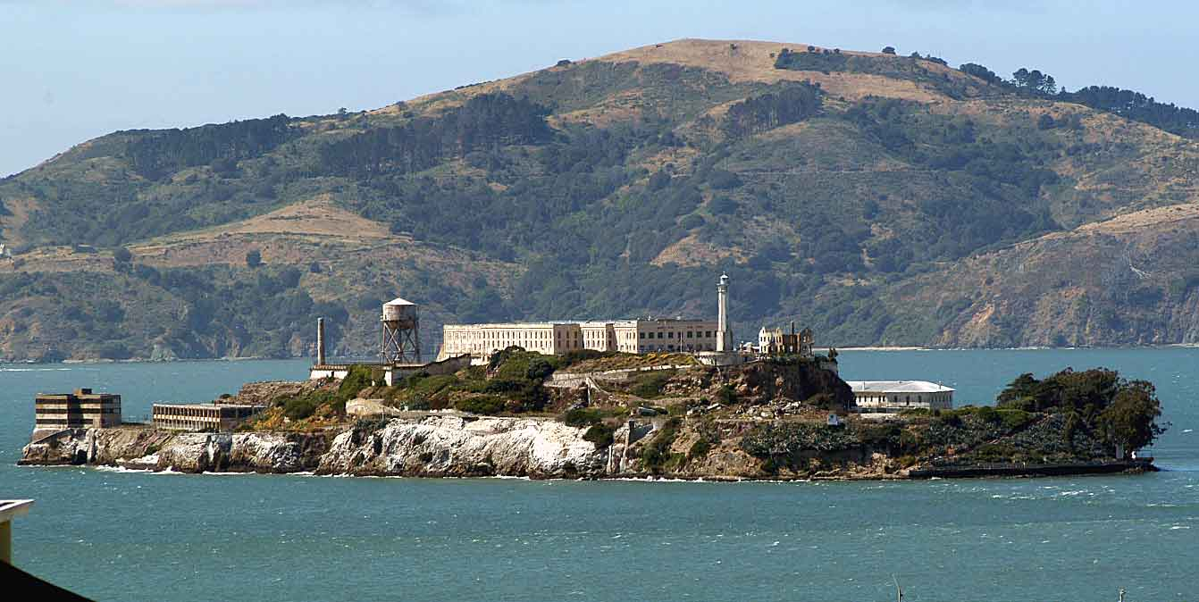 a history of alcatraz island from being a fort to being a federal prison Amazoncom: the rock: the history of alcatraz island and america's most famous prison (audible was a federal prison for only three decades, but in that time, the rock became notorious for being the it was fitting that alcatraz became the most famous prison in american history.