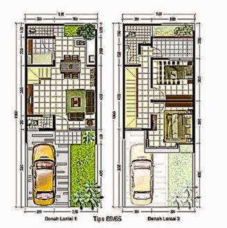 Desain Rumah Minimalis 2 Lantai Type 38 2014  Desain Rumah