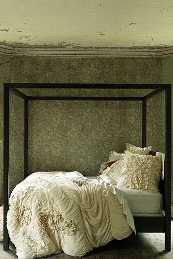 An Urban Cottage  Design Trend  Peeling Bedroom Walls