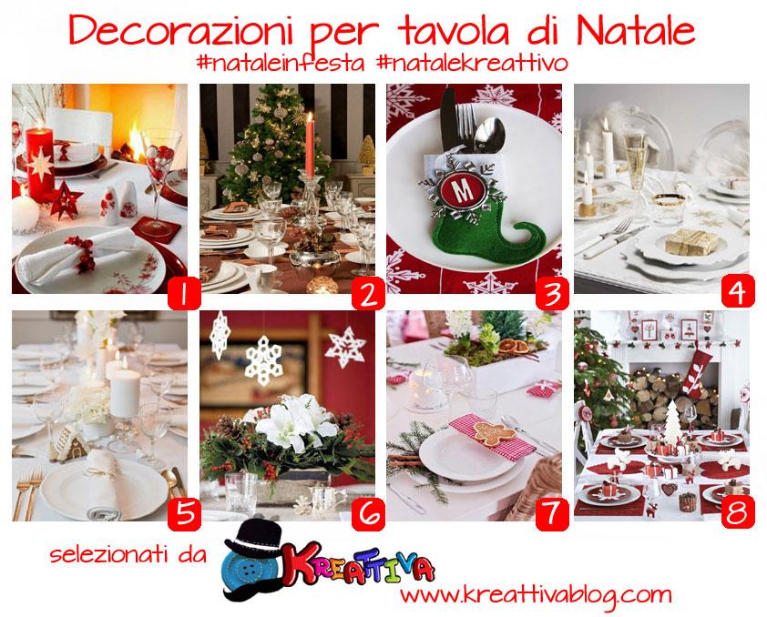 16 idee per decorare la tavola di natale kreattivablog - Decorare la tavola a natale ...