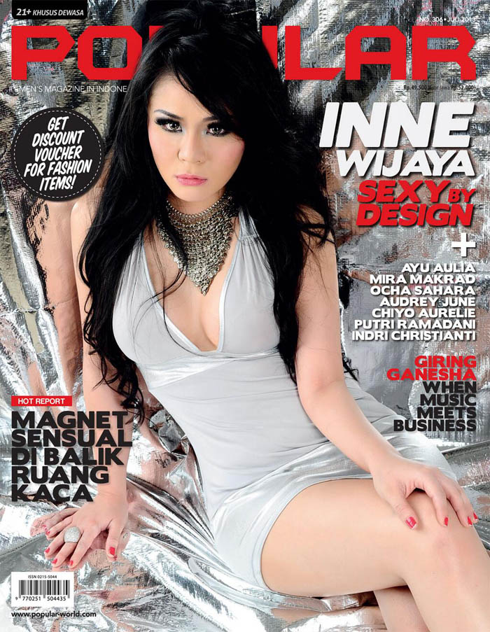 Inne Wijaya Model Majalah Popular Juli 2013