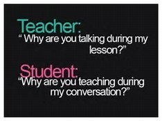 TEACHER vs. STUDENT
