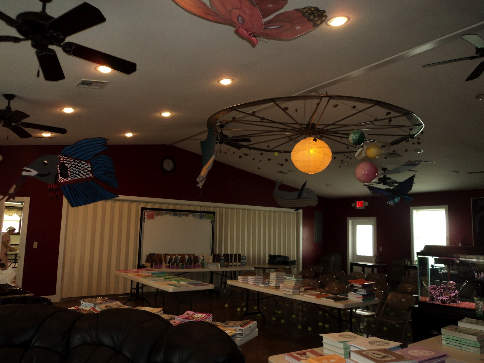 Classroom Ceiling Design ~ The plain professors ideas for decorating your classroom