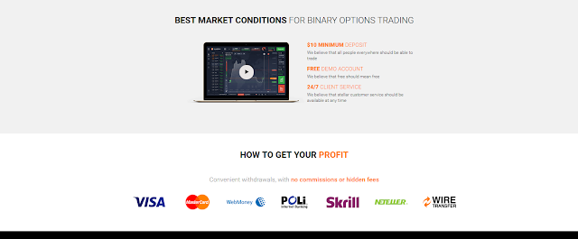 Installing the binary options app store