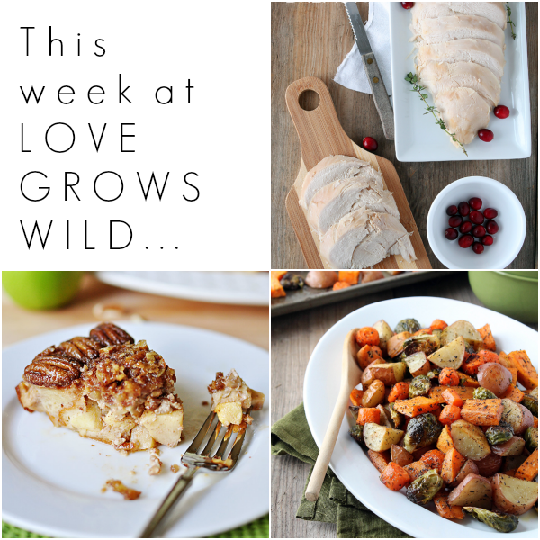 Holiday Recipes from Love Grows Wild