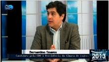 Entrevista de Bernardino Soares, candidato a Presidente da Câmara Municipal de Loures, à TVL
