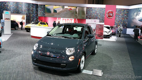 2016 Fiat 500 in Rhino Paint
