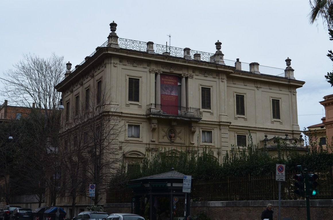 I viaggi di raffaella roma il museo boncompagni ludovisi for Come costruire un piccolo tetto sul bow window
