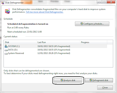 Cara Defrag Dan Cleanup Harddisk Di Windows 7