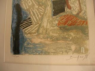 objets de collection art deco tableaux monotype par pierre duclou. Black Bedroom Furniture Sets. Home Design Ideas